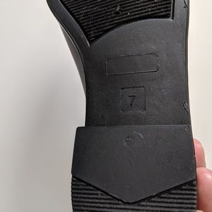 Merona Shoes - Merona Alex Chelsea Black Rain Booties Size 7